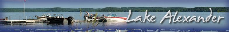 Lake Alexander Cushing MN