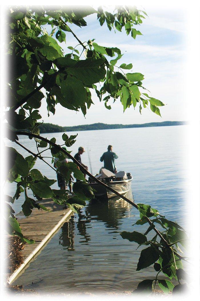 Lincoln Lakes fishing